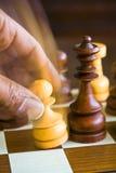 игрок шахмат Стоковое Изображение