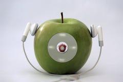 игрок яблока Стоковое Фото