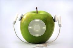 игрок яблока Стоковое Изображение
