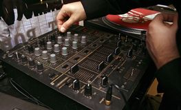 игрок dj компактного диска 7 Стоковое фото RF