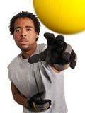 игрок dodgeball Стоковое Изображение RF
