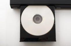 игрок dvd открытый Стоковое Изображение