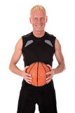 игрок forties баскетбола средний Стоковое Фото