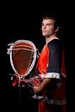 Игрок Lacrosse Стоковое Изображение RF