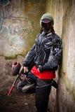 игрок paintball Стоковая Фотография RF