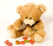 игрушечный конфет медведя Стоковое Изображение