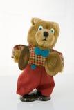 игрушечный медведя вверх по ветру Стоковая Фотография