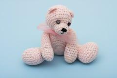 игрушечный медведя розовый Стоковые Изображения