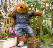 игрушечный медведя большой Стоковое Изображение