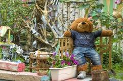 игрушечный медведя большой Стоковые Изображения