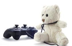игрушечный нейтрали медведя предпосылки Стоковое Фото