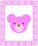 игрушечный пинка рамки медведя Бесплатная Иллюстрация