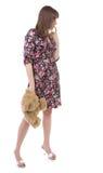 игрушечный повелительницы медведя красивейший Стоковое Изображение RF