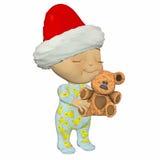 игрушечный шаржа медведя младенца Стоковые Фото