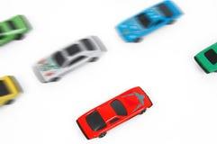 игрушка автомобилей стоковая фотография rf