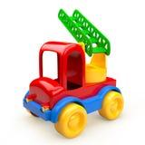 Игрушка автомобиля с лестницами иллюстрация вектора