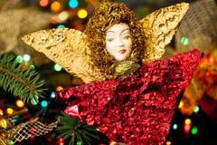 Игрушка ангела рождества Стоковые Изображения RF