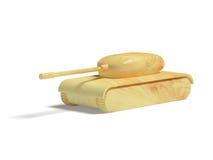 игрушка бака деревянная Стоковое Фото