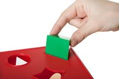 игрушка блока Стоковое Изображение