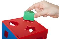 игрушка блока Стоковое Изображение RF
