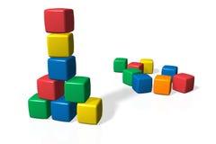 игрушка блоков иллюстрация штока