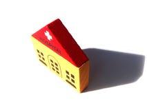 Игрушка больницы деревянная Стоковые Фото