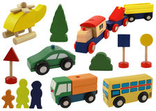 игрушка вертолета автомобиля Стоковое Фото