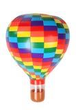 игрушка воздушного шара горячая изолированная пестротканая Стоковые Изображения