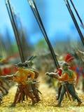 игрушка воинов стоковые фото