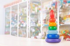 Игрушка в рынке Стоковое Фото