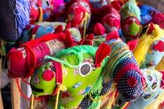 Игрушка головы лошади Стоковые Фото
