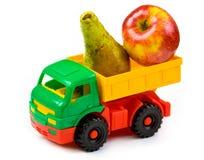 игрушка груши грузовика яблока Стоковые Изображения RF