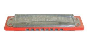 Игрушка губной гармоники винтажная Стоковое фото RF