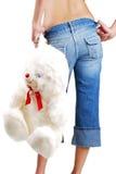 игрушка девушки сексуальная Стоковое Изображение RF