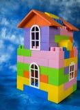 игрушка дома модельная Стоковое фото RF