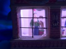 игрушка дома рождества Стоковое фото RF