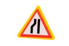 игрушка дорожного знака Стоковая Фотография