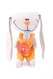 игрушка зайцев ткани ся Стоковые Изображения RF