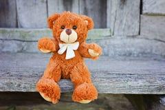 игрушка игрушечного плюша медведя Стоковое Изображение