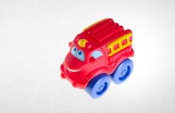 Игрушка или игрушка автомобиля на предпосылке Стоковое Изображение