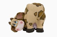 игрушка коровы мягкая Стоковое фото RF