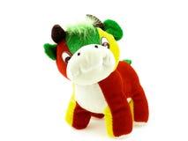 игрушка коровы пестротканая Стоковое Фото