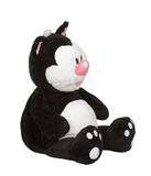 игрушка котенка мягкая Стоковые Изображения RF