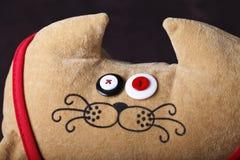 Игрушка, кот, смешной, потеха, сувенир Стоковая Фотография