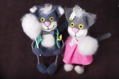 Игрушка, кот, смешной, потеха, сувенир Стоковые Изображения