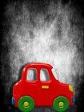 игрушка красного цвета автомобиля Стоковые Изображения RF