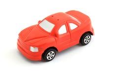 игрушка красного цвета автомобиля Стоковое Изображение RF
