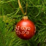 игрушка красного цвета рождества Стоковые Фотографии RF