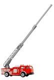 игрушка красного цвета firetruck Стоковое Изображение