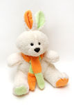 игрушка кролика зайчика стоковое фото